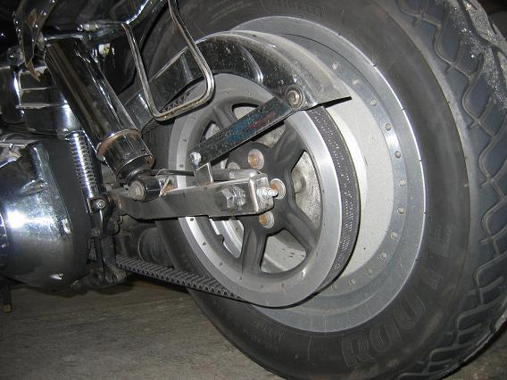 Shovelhead Final Belt Drive